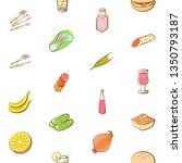food images. background for... | Shutterstock .eps vector #1350793187