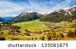 Valley In Austria Near The...