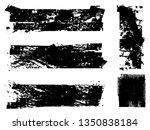 grunge paint roller . vector...   Shutterstock .eps vector #1350838184
