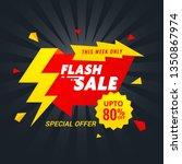 sale banner template design....   Shutterstock .eps vector #1350867974
