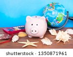 travel and holiday concept ... | Shutterstock . vector #1350871961