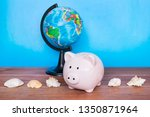 travel and holiday concept ... | Shutterstock . vector #1350871964
