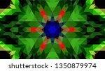 geometric design  mosaic of a... | Shutterstock .eps vector #1350879974