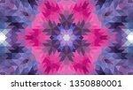 geometric design  mosaic of a... | Shutterstock .eps vector #1350880001