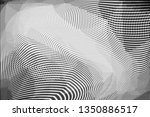 grunge halftone dots pattern... | Shutterstock .eps vector #1350886517