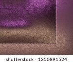leather stitched texture or... | Shutterstock . vector #1350891524