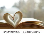 Heart From Page Of Book For...