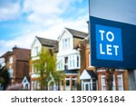 Estate Agency \'to Let\' Sign...