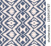 ikat seamless pattern. vector... | Shutterstock .eps vector #1350919787