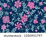 ethnic seamless pattern in... | Shutterstock .eps vector #1350951797