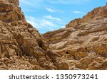 high rocky mountains against... | Shutterstock . vector #1350973241