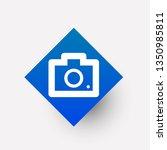 photo camera  icon in trendy...