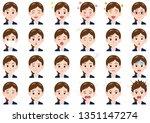 business women various...   Shutterstock .eps vector #1351147274