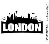 London England. City Skyline....