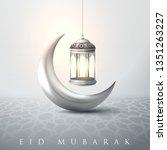 eid mubarak islamic design...   Shutterstock .eps vector #1351263227