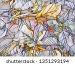 computer generated digital... | Shutterstock . vector #1351293194
