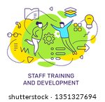 vector business illustration of ...   Shutterstock .eps vector #1351327694