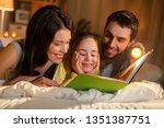 people and family concept  ... | Shutterstock . vector #1351387751
