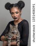 beauty portrait of an...   Shutterstock . vector #1351408391