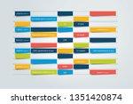 chart  schedule design template.... | Shutterstock .eps vector #1351420874