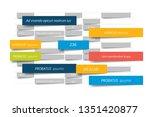 chart  schedule design template.... | Shutterstock .eps vector #1351420877