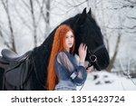 Redhead Beautiful Girl In A...