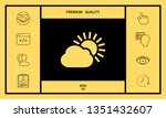 sun cloud icon. graphic... | Shutterstock .eps vector #1351432607