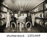 Vintage Photo Of Salesmen In...