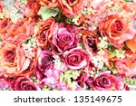 Artificial Rose Flowers Mixed...