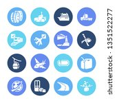 vehicle icon set and space...