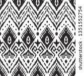 black and white seamless... | Shutterstock .eps vector #1351552754
