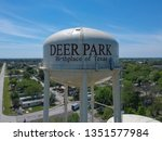 Aerial View Of Water Tower In...