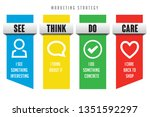see think do care marketing... | Shutterstock .eps vector #1351592297