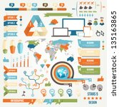 infographic elements and...