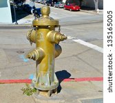 Small photo of Historic Fire Hydrant That Saved Mission Dolores Neighborhood Of San Francisco From Being Razed To The Ground By Fire That Ensued From The 1906 Earthquake
