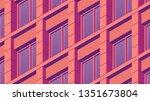 vector isometric building... | Shutterstock .eps vector #1351673804