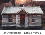 An Old Historic Wooden Cabin...
