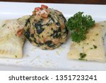 swabian ravioli called...   Shutterstock . vector #1351723241