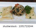 swabian ravioli called...   Shutterstock . vector #1351723244