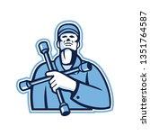 illustration of a tire... | Shutterstock .eps vector #1351764587