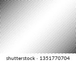 distressed dots background.... | Shutterstock .eps vector #1351770704