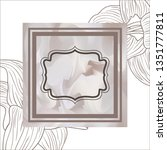 victorian with frame and...   Shutterstock .eps vector #1351777811