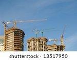 concrete building construction... | Shutterstock . vector #13517950