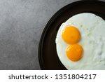 Double Fried Egg Sunny Side Up
