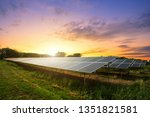 Solar Panel Cell On Dramatic...
