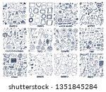 business and frames  winter... | Shutterstock . vector #1351845284