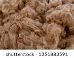 the soft  fine and warm fleece... | Shutterstock . vector #1351883591