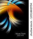 bright modern design | Shutterstock . vector #1351883954