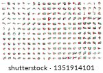 very big collection of vector... | Shutterstock .eps vector #1351914101