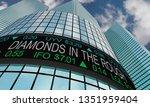 diamonds in the rough secret...   Shutterstock . vector #1351959404